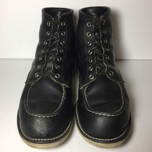 Red Wing® 9075 Heritage Black Boot Size 11.5 D